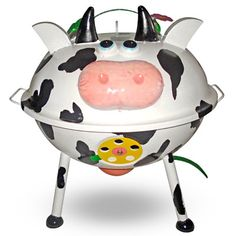 Mini Kettle Braai Cow