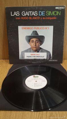 LAS GAITAS DE SIMON. LP / HUGO BLANCO-VENEZUELA / MBC. ***/***                                                                                                                                                      More
