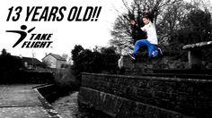 Parkour & Freerunning Phenom - 13 Year Old Anthony Holmes!!!