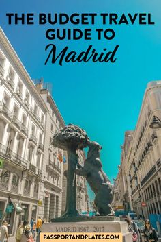 Budget Guide to Madrid - Traveling to Madrid, Spain? This guide includes everything you need to know about what to do, where - Spain Travel Guide, Europe Travel Tips, Travel Guides, Travel Destinations, Budget Travel, Travel Packing, European Destination, European Travel, Malta