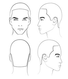 "Use a ""head form"" sheet! This is a crucial educational tool when learning new techniques as it allows you to map out haircuts and take notes. They serve as landmarks vs just taking notes on a blank sheet of paper. It provides a step by step guide for the desired look. - Jose"