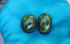 Jade crystal stone medium tumbled by GladStonesNSage on Etsy