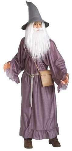 #Ebay #Gandalf #The #Grey #Fancy #Dress #Men #Costume #Halloween #Wig #Beard #Hat #Robe #Belt #Pouch