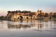 The Popes in Avignon (France). 'The seat of papal power for more than a century, Avignon has retained something regal about it! Visit France, South Of France, La Provence France, Places To Travel, Places To Visit, Wanderlust, Luxury Villa Rentals, Le Palais, France Travel