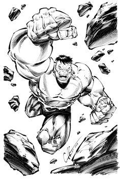 HULK! Comic Art