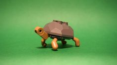 Turtle by Takamichi Irie; wild green animal rock rocks lego turtle small turtles mocs moc