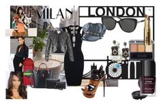 """""""Perfect look for London/Milan Fashion week (prize for the winner: 1 pair of sunglasses !!!)"""" by naomig-dix ❤ liked on Polyvore featuring Bling Jewelry, Miss Selfridge, Imusa, Nemesis, Victoria Beckham, Old Spice and smartbuyglasses"""