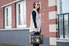 Casual business look with River Island Bag1