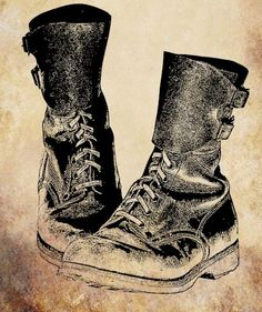 combat boots shoe png clip art graphics by VellasCollageSheets, $1.00