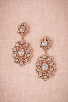 Rose Gold Chandeliers by Kenneth Jay Lane | BHLDN