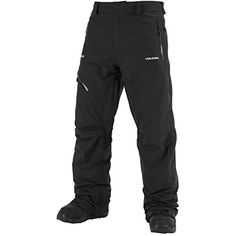 Volcom Mens L GoreTex Pant Black Small * Read more reviews of the product by visiting the link on the image.