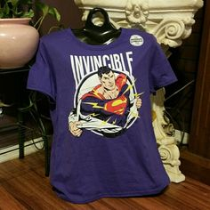 BOGO 50% OFF NWT Superman Boyfriend Tee BOGO 50% Off Now Thru June 26th!!! Superman Boyfriend Tee brand new with tags in perfect condition! Meant to fit baggy. Bundle and save 30% on 4+ items!!! Superman Tops Tees - Short Sleeve
