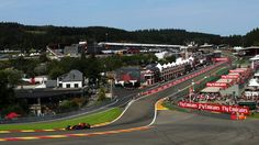 156 Max Verstappen Red Bull Racing RB13 at Spa Francorchamps, practice for Belgian Grand Prix - Friday 25 August 2017