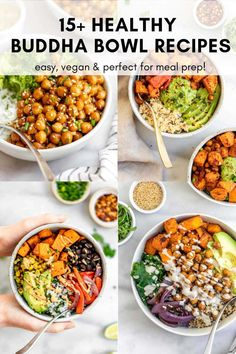 Healthy Meal Prep, Healthy Cooking, Easy Vegetarian Dinner, Healthy Gluten Free Recipes, Meal Prep Bowls, Lunch Recipes, Bowling Outfit, Meals, Dinners