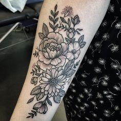 tattoo by @jenniferlawes