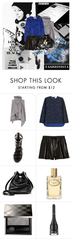"""""""One of a kind"""" by rainie-minnie ❤ liked on Polyvore featuring Ann Demeulemeester, STELLA McCARTNEY, 3.1 Phillip Lim, Juicy Couture, Prada, Burberry and Rimmel"""