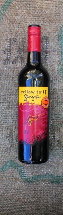 how to serve yellowtail sangria