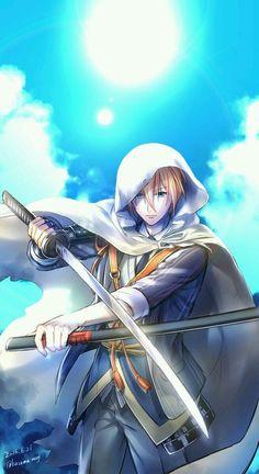 널 향한 나의 사랑은 Kawaii Chibi, Kawaii Anime, Fan Anime, Anime Art, Touken Ranbu, Character Inspiration, Character Design, Cool Anime Guys, Anime Boys