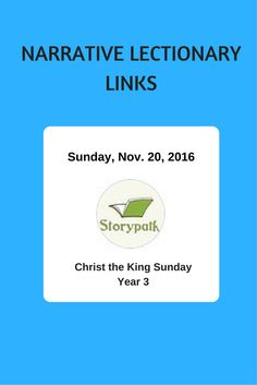 Childrens Book Suggestions For The Preaching Text From Narrative Lectionary November 20 2016