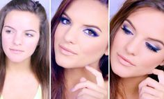 Get Ready With Me: Blue Eyeshadow & Liner Blue Eyeliner, Blue Eyeshadow, Eyeshadow Makeup, Beauty Tutorials, Beauty Hacks, Makeup Tutorials, Beauty Tips, Makeup Videos, Makeup Tips