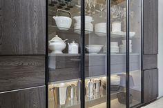 505 Wall System - Molteni&C Glass Kitchen, Kitchen Dining, Crockery Cabinet, Curio Cabinets, Glass Cabinets, Display Cabinets, China Cabinets, Glass Shelves, Kitchen Interior
