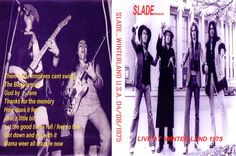 "That was yesterday: SLADE - Live at ""Winterland"" 1975"