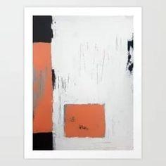 Simple mind Art Print