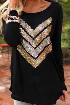 All That Glitters Top – 4hearts