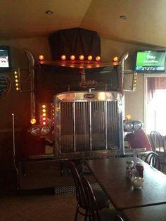 Truck stop diner