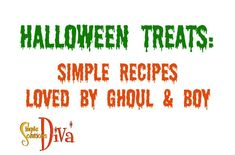 Easy Halloween, Halloween Treats, Simple Recipes, Food To Make, Diva, Easy Meals, Videos, Easy Recipes, Quick Easy Meals