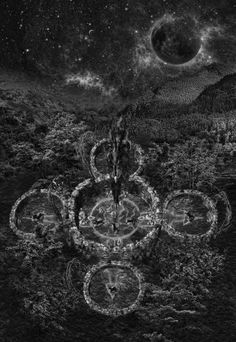The Temple of Four Pillars of Fire Primal Craft, Pillar Of Fire, Asatru, Sacred Geometry, Witchcraft, General Hospital, Crafts, Temples, Montana