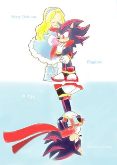 The gift by Tanglili on DeviantArt - I'm gonna cry Maria The Hedgehog, Sonic The Hedgehog, Silver The Hedgehog, Shadow The Hedgehog, Sonamy Comic, Shadow And Maria, Sonic Underground, Rouge The Bat, Sonic Heroes