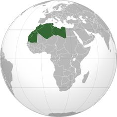 The traditional definition as the region including the Atlas Mountains and the coastal plains of Morocco, Algeria, Tunisia, and Libya, was later superseded, especially following the 1989 formation of the Arab Maghreb Union, by the inclusion of Mauritania and of the disputed territory of Western Sahara (mostly controlled by Morocco).