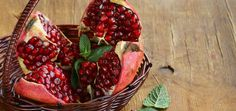 The pomegranate (botanical name Punica granatum), is a fruit-bearing deciduous shrub belonging to the family Punicaceae. The name pomegranate derives from Medieval Latin pōmum(apple) and grānātum (seeded). Its jewel-like seeds (arils) have been used for medicinal purposes for millennia