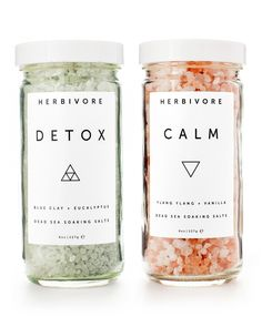 Dead Sea Bath Salts Set – Herbivore Botanicals