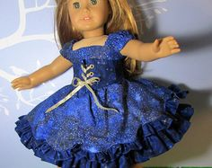 18 Doll Clothes fit American Girl Dress by MareWareCreations