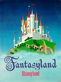 Vintage Poster - Fantasyland