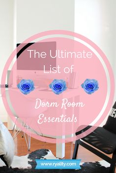 The Ultimate List Of Dorm Room Essentials For A College Girl Everything A College Girl