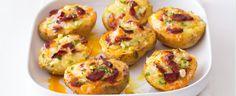 Pečené brambory s tvarůžky