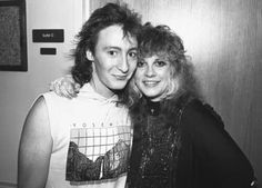 Julian Lennon and Stevie ~ ☆♥❤♥☆ ~ looking so pretty and tiny
