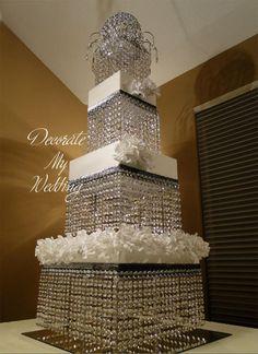 Crystal Wedding Cake Stand