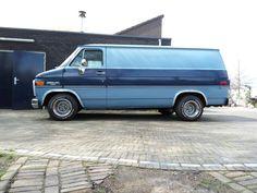 Chevy For Sale, Chevrolet Van, Chevy Vans, Old School Vans, Vanz, Day Van, Ford, Cool Vans, Gm Trucks