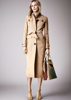 Burberry Womenswear S/S 2015 pre-collection, more here.. http://www.zoemagazine.net/22908-burberry-womenswear-ss-2015-pre-collection