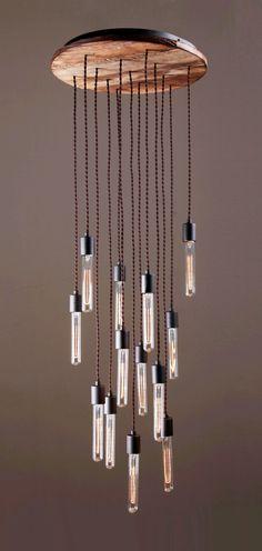 CANDELIER industrial chandelier by www.reclamations.co