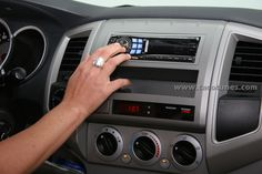 Toyota Tacoma Stereo Installation and dash removal instructions