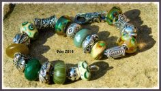 Walking through a woodland with beautiful beads. By Deborah Taylor