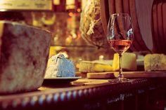 Drink wine and eat freshly baked bread in Paris
