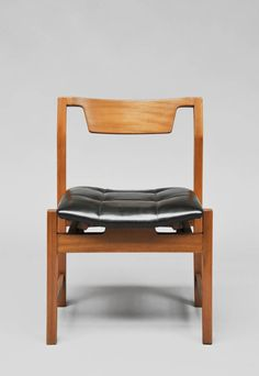 Pair of chairs SC104 - Hexagone - by Michel Mortier - Steiner edition - 1960 | From a unique collection of antique and modern chairs at https://www.1stdibs.com/furniture/seating/chairs/