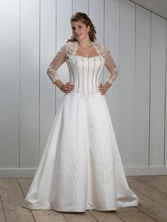 Cheap Simple Plus Size Wedding Dresses At Exclusive