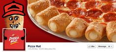 PizzaHut-Inspiring #Facebook Page Design